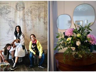 Cơ ngơi mới sang trọng của Diva Hồng Nhung và hai con