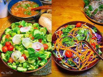 'Bỏ túi' những món salad rau củ thanh mát, giòn ngon giúp chị em mau chóng sở hữu vòng eo 'con kiến' hằng mơ ước