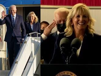 Bị vợ 'mắng yêu' trên sóng truyền hình, phản ứng 'không phải dạng vừa' của Tổng thống Mỹ khiến dân mạng tan chảy