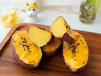 Độc quyền các 'típ' làm bánh pudding khoai lang kiểu Nhật dành cho các đồng đạo 'săn khoai giải ngố'