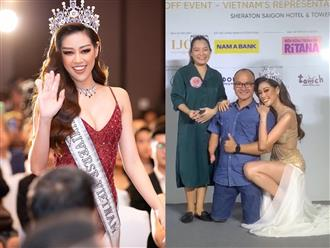 Fan quốc tế chia sẻ hành động đẹp của Hoa hậu Khánh Vân khi quỳ gối chụp ảnh cùng 'kình ngư không chân'