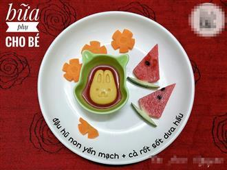 Mẹ bỉm tiết lộ những món 'ăn phụ quốc dân' dành cho trẻ đang tuổi ăn, tuổi lớn