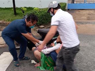 Một bác sĩ đã đỡ đẻ thành công cho một sản phụ vỡ ối ngay trên vỉa hè