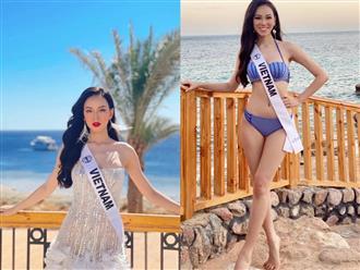 Mỹ nhân Việt phải ra chợ mua bikini vì bị tịch thu hành lý, có bị lép vế với dàn chị em tại Miss Intercontinental 2021