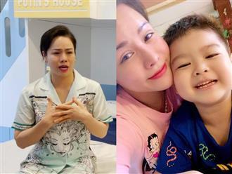 Nhật Kim Anh rơi lệ khi nhắc đến chồng cũ, tiết lộ lý do chưa đón con trai về sống cùng
