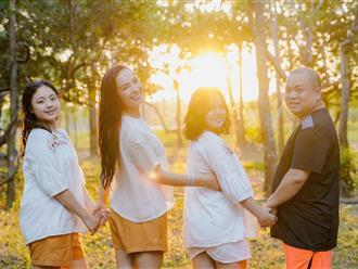 Thúy Hạnh – Minh Khang khoe ảnh gia đình 'đẹp như mơ', nhan sắc 2 cô con gái gây chú ý