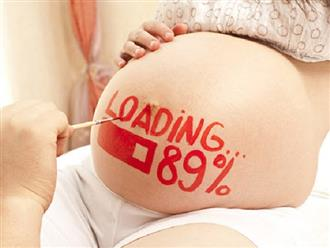 Đây là 4 dấu hiệu con yêu sắp chào đời, mẹ nên biết để chuẩn bị chu toàn