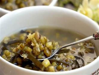 Kết hợp đậu xanh với 3 thực phẩm này, vừa giúp thanh nhiệt lại còn giải độc cơ thể mùa hè