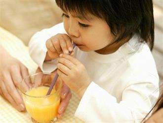 Nước cam rất tốt cho sức khỏe, nhưng mẹ cho con uống đúng 'giờ vàng' thì trẻ cao lớn lại tăng thêm sức đề kháng