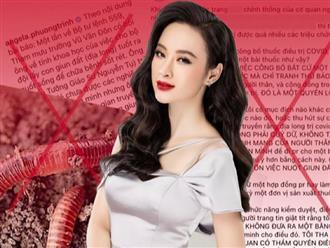 Vừa 'cúi đầu' nhận lỗi vì đăng tin giun đất sai sự thật, Angela Phương Trinh vẫn 'dửng dưng': 'Ung thư đầu mặt nhỏ dần nhờ dùng địa long và lạy phật sám hối'?