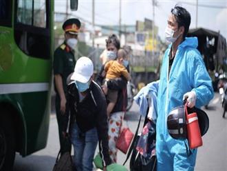 Bộ Tư lệnh TP.HCM công khai đường dây nóng, sẽ hỗ trợ đưa đón người dân về quê