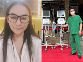 Kệ miệng đời, Phi Nhung tuyên bố 'lì mặt' kêu gọi quyên góp mua máy thở: 'Ai chửi cũng được, cứu người trước'