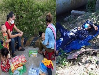 Chạy xe máy từ Bình Dương về Nghệ An, 2 ông chồng tá hỏa phát hiện vợ con bị 'bỏ quên' giữa đường