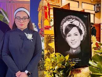 Con gái ruột Phi Nhung đăng tải dòng trạng thái sau tang lễ của mẹ tại Mỹ, nhắn nhủ 1 câu khiến ai cũng trào nước mắt