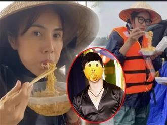 Dân tình mỉa mai 'trend' nghệ sĩ đi từ thiện ăn mì tôm, 1 sao nam cũng công khai 'cà khịa' cực gắt