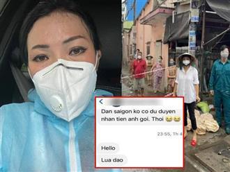 Chạy ngược chạy xuôi hỗ trợ chống dịch, Phương Thanh nổi đóa vì bị mắng 'lừa đảo' tiền từ thiện, hành động rạch ròi sau đó khiến fan chú ý