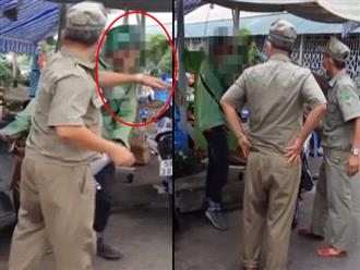 Xôn xao clip đi giao đồ, tài xế xe công nghệ ở TP.HCM bị 2 bảo vệ dân phố tát thẳng mặt