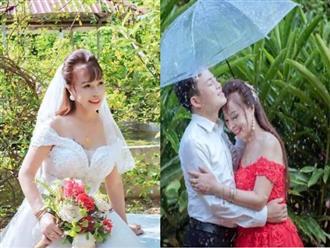 Diện váy cưới lộng lẫy kỷ niệm 3 năm lấy chồng trẻ, cô dâu 64 tuổi ở Cao Bằng bị mỉa mai sốc và màn 'đáp trả' cực cao tay