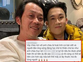 Dương Triệu Vũ đăng bài chia sẻ cách làm từ thiện của người thông minh, dân mạng 'réo' tên Hoài Linh ầm ầm