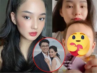 Hình ảnh khác lạ của vợ cũ cố người mẫu Duy Nhân sau hơn 1 năm tái hôn, hé lộ tổ ấm viên mãn bên con đầu lòng