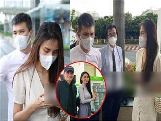 HOT: Đúng giờ hẹn, vợ chồng Thủy Tiên chính thức có mặt tại ngân hàng, 18.000 trang sao kê sẵn sàng chờ công bố