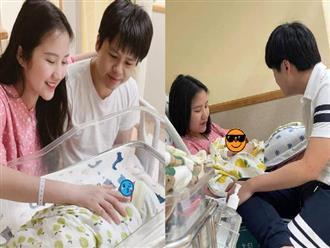 HOT: Vợ Phan Thành đã hạ sinh quý tử đầu lòng, nhan sắc của bà mẹ 1 con hậu sinh nở gây ngỡ ngàng