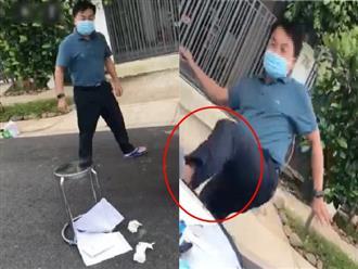 Lời trần tình của người đàn ông hô 'Biến' và đạp đổ bàn y tế ở TP.HCM: Sợ lây dịch cho gia đình