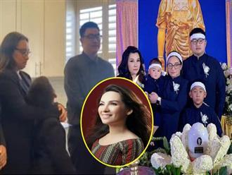 Nghẹn ngào lời hứa của con rể Phi Nhung trước bàn thờ mẹ vợ, chỉ 7 từ đã thấy rõ chân tình dành cho Wendy