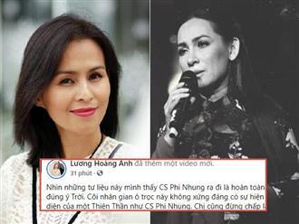 Sau 10 ngày Phi Nhung qua đời, vợ cũ Huy Khánh phát ngôn gây tranh cãi: 'Ra đi là hoàn toàn đúng ý Trời'