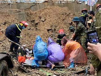 Quảng Ninh: Sạt lở đất kinh hoàng vùi lấp 4 người đang ngủ lúc rạng sáng, 3 thi thể được tìm thấy
