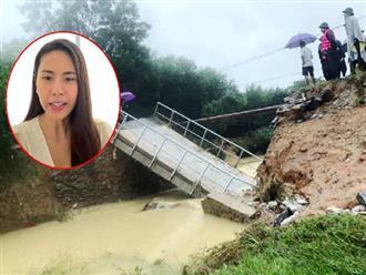 Sự thật bất ngờ về 2 cây cầu tiền tỷ mà Thủy Tiên hỗ trợ xây dựng ở Nghệ An, đại diện 1 xã cho biết: Không nắm rõ số tiền