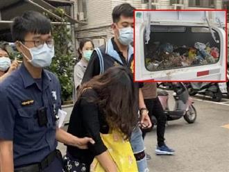 Thi thể bé gái sơ sinh được phát hiện bị vứt trong xe rác, lời khai của người mẹ khiến tất cả bàng hoàng