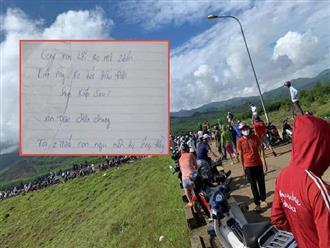 Tìm thấy thi thể đôi nam nữ ở Quảng Nam vừa đính hôn cùng lá thư tuyệt mệnh đẫm nước mắt: 'Xin lỗi ba mẹ 2 bên, con bị lừa'