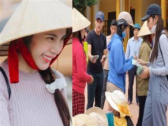Tỉnh Quảng Ngãi chính thức xác nhận vợ chồng Thủy Tiên trao tặng người dân 14 tỷ đồng: 'Người nhận 5 triệu, người tặng căn nhà'