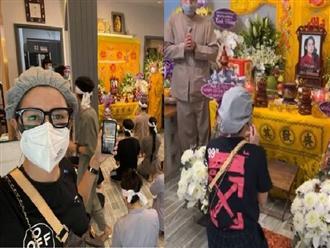 Trang Trần bị 'ném đá' vì quay hình quá đà trong lễ cầu siêu của Phi Nhung, dân mạng bức xúc: Nói 1 đằng, làm 1 nẻo?