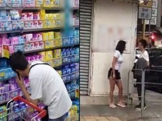 Đỉnh cao 'lươn lẹo': Thanh niên có bạn gái vẫn lén lút mua băng vệ sinh chăm 'em gái mưa', bị phát hiện liền phán câu phũ phàng