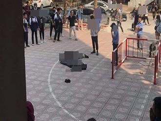 Thương tâm: Bị người tự tử rơi trúng, nam sinh ĐH Kiến Trúc Hà Nội đang đi bộ dưới sân trường nguy kịch