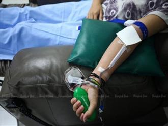 Nam thanh niên nhiễm HIV do truyền máu tại bệnh viện