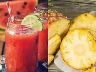 10 loại trái cây mùa hè càng ăn càng có làn da khỏe mạnh, trắng sáng chắc chắn chị em nào cũng thích mê
