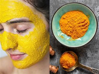 3 cách trị mụn bằng nghệ giúp bạn 'xử đẹp' làn da sần sùi, kém xinh