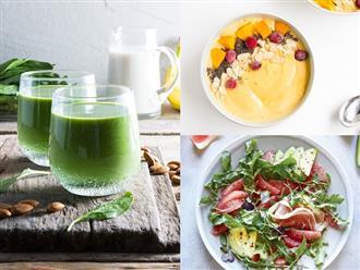 3 kiểu bữa sáng Eat Clean nhanh – gọn – nhẹ mà chỉ dưới 300 calories