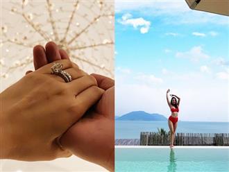 360 độ sao Việt ngày 4/12/2019: Xuân Lan lộ nhẫn kim cương ở ngón áp út, Bảo Thanh 'về nhà đi con' khoe dáng với bikini