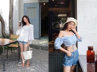 4 cách lên đồ đẹp cùng quần short jeans cho ngày hè năng động