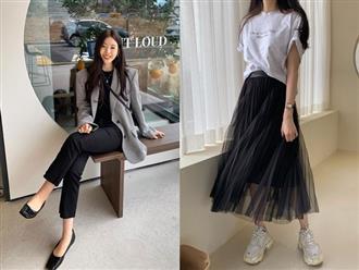 4 chiêu mix đồ cơ bản giúp bạn diện áo phông đen bớt chán, mặc áo phông trắng không sợ nhàm