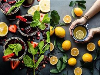 4 công thức trà làm sạch da, đốt cháy chất béo cực hiệu quả