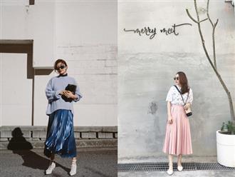 4 kiểu chân váy siêu xinh phải có cho mùa lạnh vì mix đồ kiểu gì cũng đẹp và sang