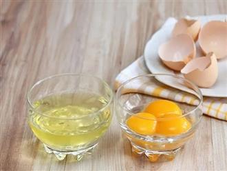 4 loại mặt nạ lòng trắng trứng cho da săn chắc, trắng sáng