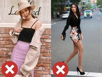 4 lỗi diện chân váy khiến chị em không bị dìm dáng thì trông cũng đến là kém duyên