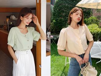 """4 mẫu áo blouse chống chỉ định chị em diện đi làm bởi kiểu thì hở hang quá, kiểu thì """"bô nhếch"""" kém sang"""