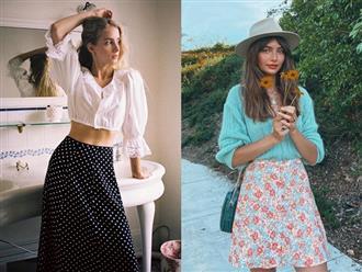 """4 mẫu chân váy xinh như mộng được phụ nữ Pháp si mê từ năm này qua tháng khác, bạn sắm theo là style đã """"lên đời"""" rồi"""